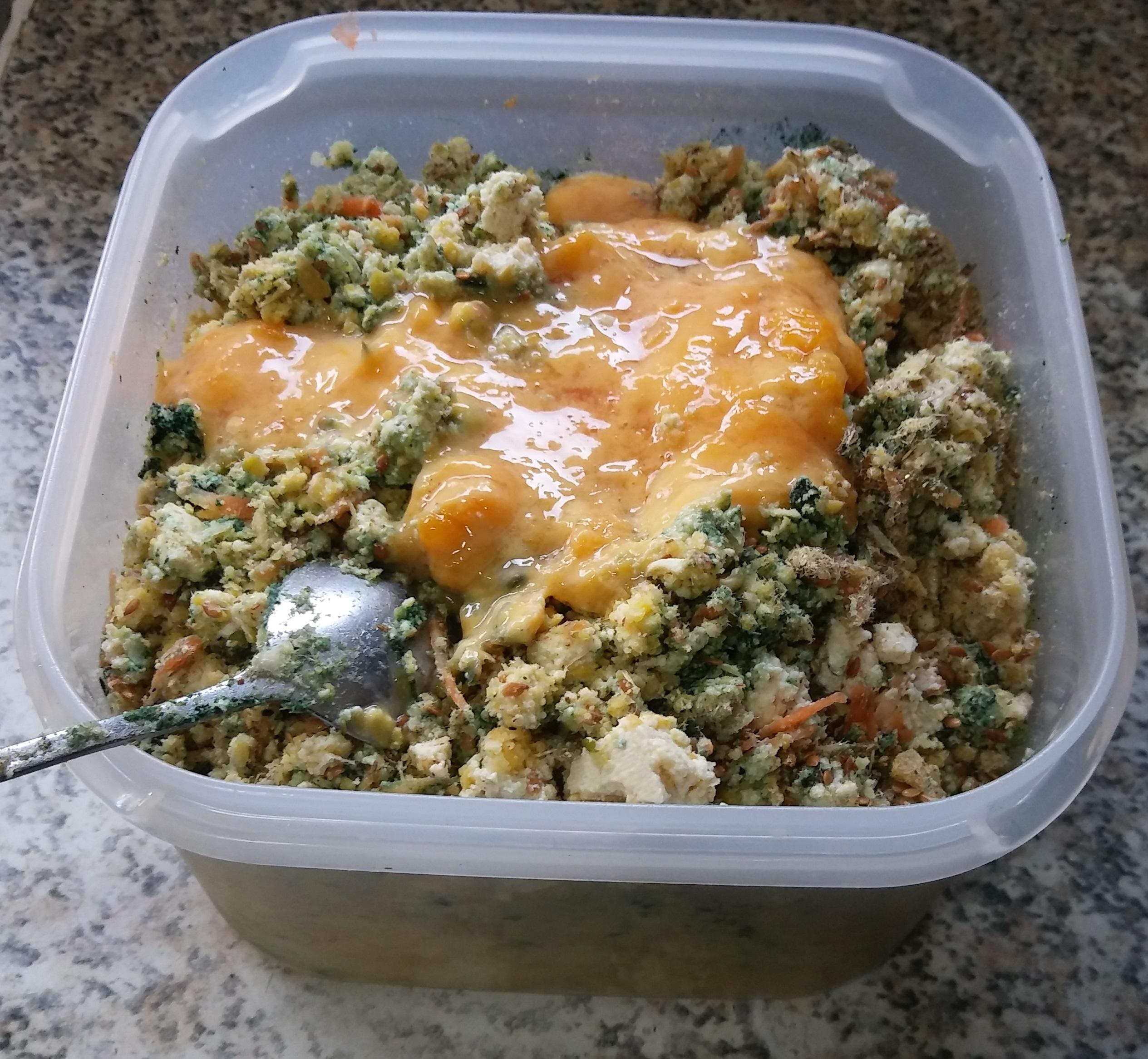 달걀의 맛과 멋을 품은 '두부 스테이크'