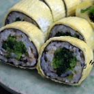 봄나물 김밥