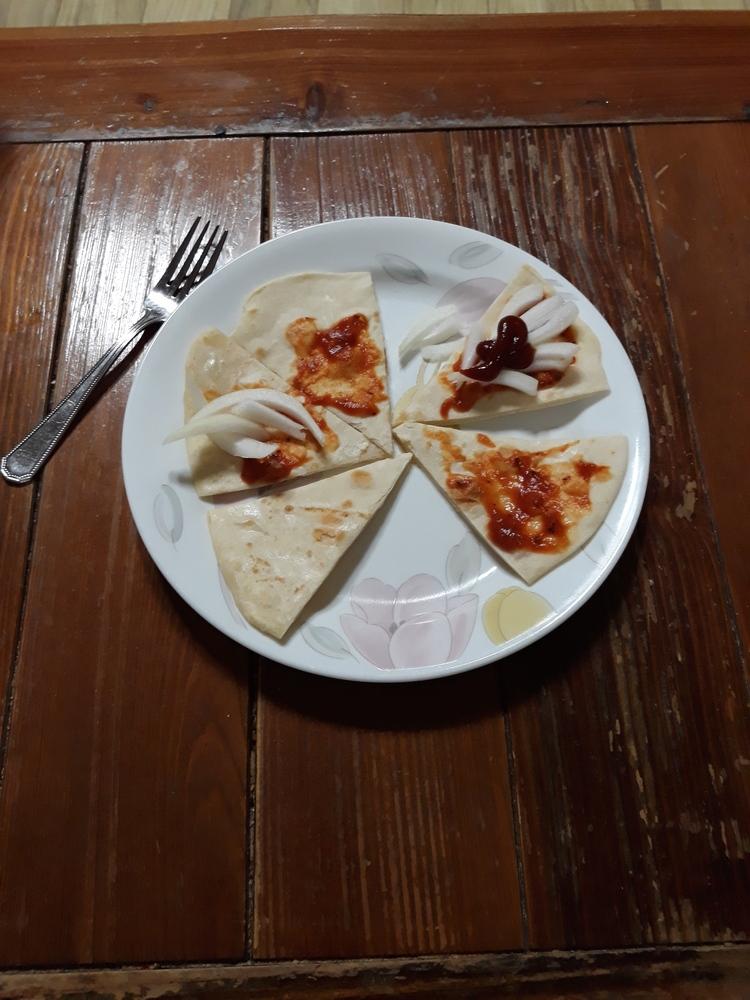 또띠아,피자 첫작품ㅋ