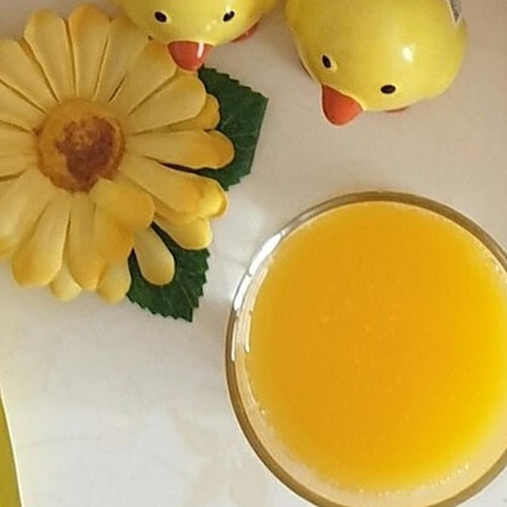 오렌지 주스한잔이 참 ..