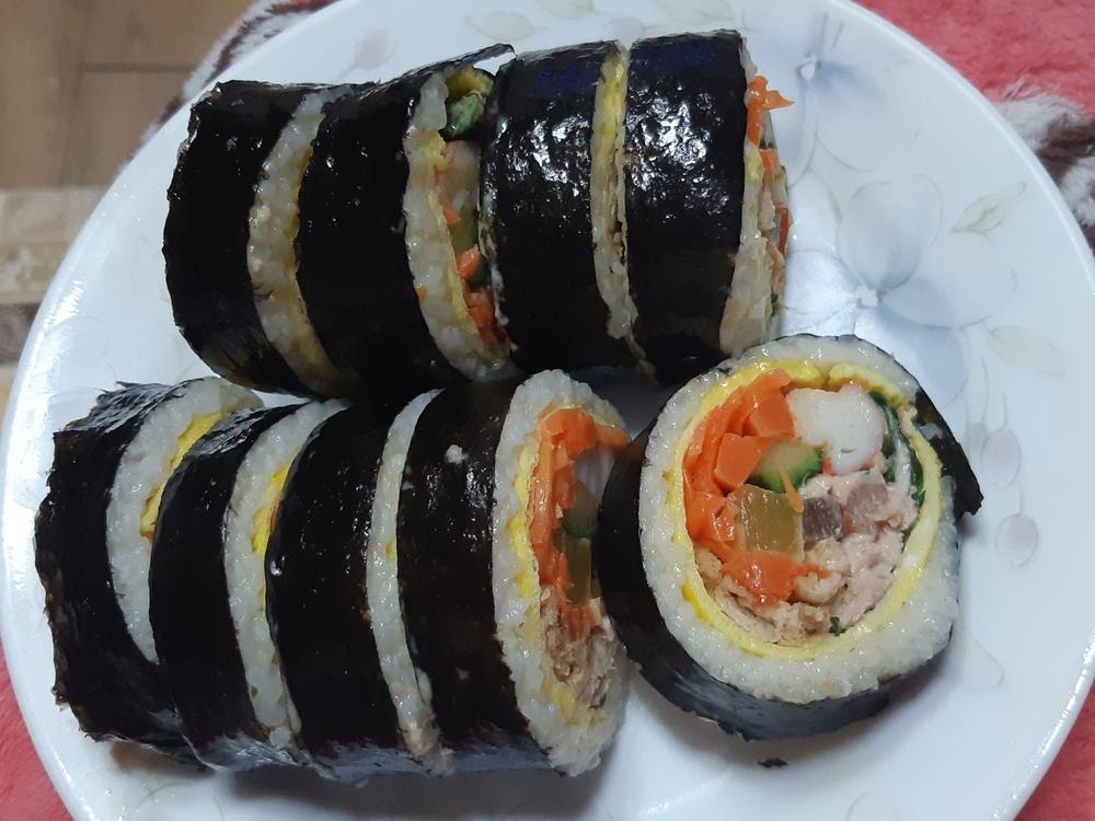 당근듬뿍품은 왕김밥