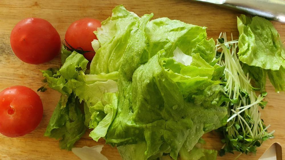 유자청 샐러드