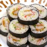 돈까스샐러드김밥